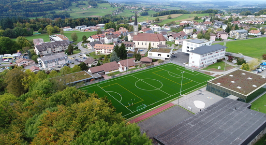 Attalens - terrain de football synthétique